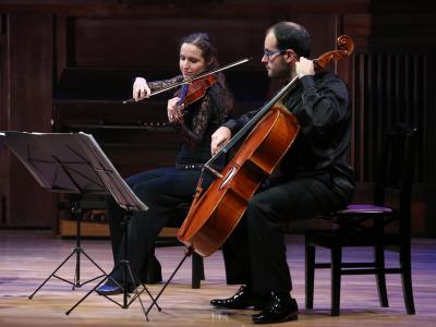 Cuarteto Cosmos. Recital de música de cámara