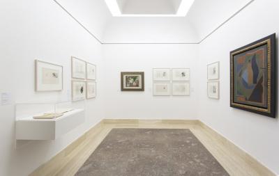 Vista parcial. Exposición Gleizes y Metzinger: Du cubisme (1912-1947)
