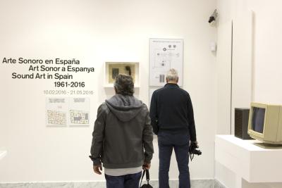 Exposición Arte Sonoro en España (1961-2016)