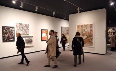 Exposición LO NUNCA VISTO.  De la pintura informalista al fotolibro de postguerra (1945-1965)