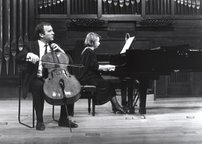 Dimitar Furnadjiev y Zdravka Radoilska. Concierto Sergei Prokofiev. Música de cámara