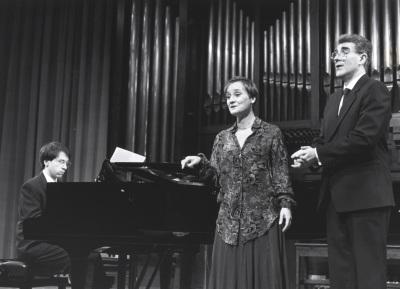 Xavier Pares, Carmen Rodríguez Aragón y Manuel Pérez Bermúdez. Concierto La españolada. Música española por compositores extranjeros