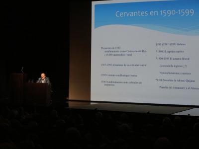 Jorge García López. Caballeros, pícaros y pastores. La novela que leyó Cervantes y la que escribió. El estilo de Miguel de Cervantes: contexto literario y pedrsonalidad creadora.