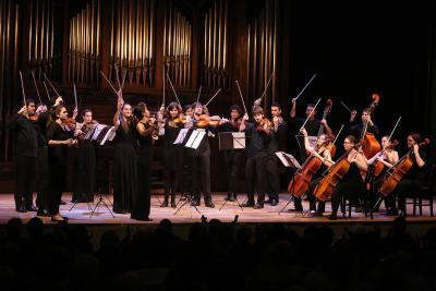 Orquesta de cuerda el Real Conservatorio Superior de Música de Madrid. Recital de música de cámara