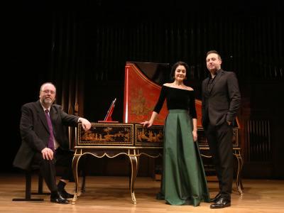 Eduardo López Banzo, Ana Quintans y Carlos Mena. Los Scarlatti y el barroco napolitano. Nápoles virreinal