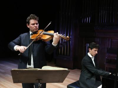 Ismael Margain y Adrien La Marca. Recital de viola y piano