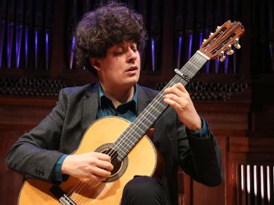 Samuel Diz. Recital de guitarra