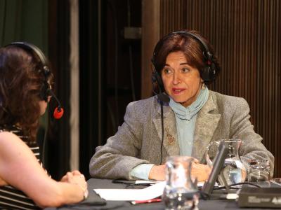 Laura Prieto y Araceli Pereda. Entrevistas de R. N. E.