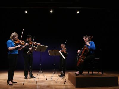 Cuarteto Chiaroscuro. La música inédita de Carlos IV, la bilioteca de Parma