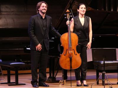 Iris Azquinezer y Antonio Galera. Recital de Violonchelo y piano