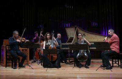 Ensemble Da Kamera. Las pasiones del alma. Bach interpreta a Quintiliano: la retórica musical