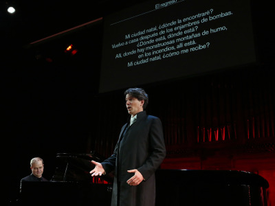 Günter Haumer y Julius Drake. El universo musical de Bertolt Brecht. Hans Eisler: The Hollywooder Liederbuch