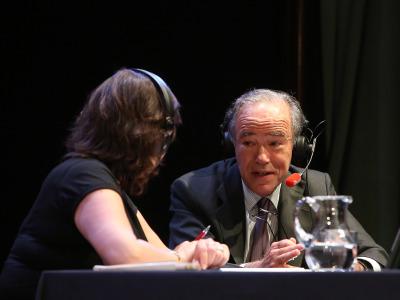 Laura Prieto y Gregorio Marañón y Bertran de Lis. Entrevistas de R. N. E.