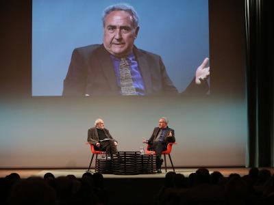 Juan Antonio Masoliver y Vicente Molina Foix