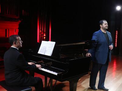 Juan Francisco Parra y Celso Albelo. Concierto clausura dela Temporada 2015-2016