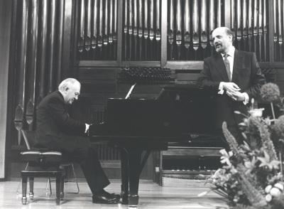 Miguel Zanetti y Manuel Cid. Concierto En recuerdo de Federico Sopeña - [Concierto especial 36]
