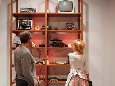 Inauguración de la Exposición Escuchar con los ojos Arte sonoro en España, 1961-2017