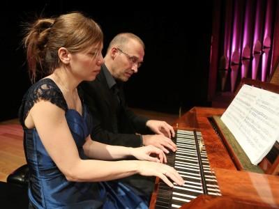 Petra Somlai y Bart Van Oort. Beethoven y Schubert al fortepiano