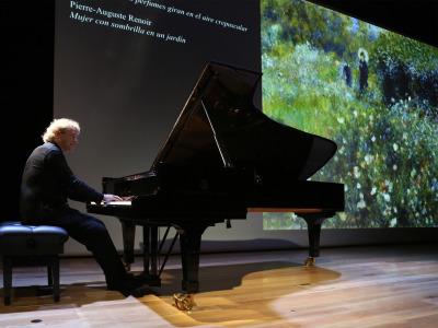 Pascal Rogé. Debussy y los impresionistas - Sinestesias. Escuchar los colores, ver la música