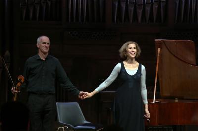 Maggie Cole y Sebastian Comberti. Beethoven y Schubert al fortepiano