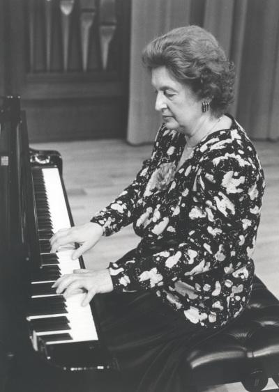Teresina Jordá. Concierto Música romántica para dos pianos