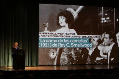 """Mercedes Monmany. """"La dama de las camelias"""" (1921) de Ray C. Smallwood -"""
