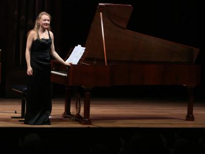 Olga Pashchenko. Recital de fortepiano
