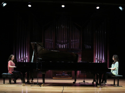 Christina Naughton y Michelle Naughton. Recital de piano