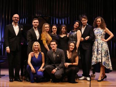 Alumnos de la Escuela Superior de Canto de Madrid. Recital de canto