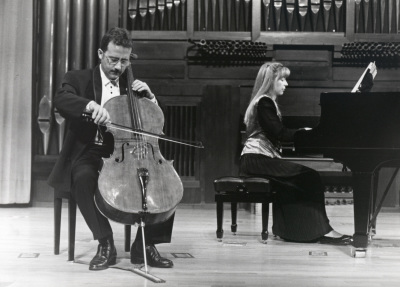 Álvaro P. Campos y Menchu Mendizábal. Concierto Música española de salón