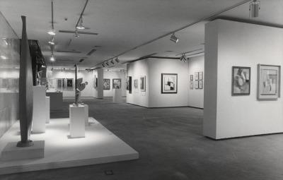 Vista parcial de la exposición Kurt Schwitters