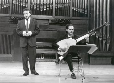 Lambert Climent y Juan Carlos Mülder. Concierto Canción barroca