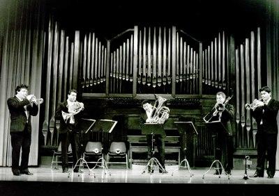 Madrid Brass. Concierto Música para metales