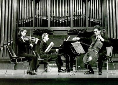Trío de Bilbao, Aurore Schoonbroodt, Jean Halsdorf y Javier Hernández. Concierto Tríos con piano