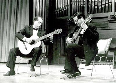 Emilio Manuel y Miguel Ángel Rodríguez. Recital de dúo de guitarra