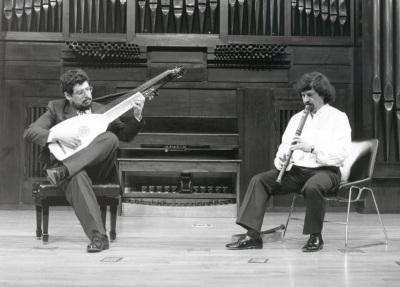 Gerardo Arriaga y Gerardo Martín. Concierto Del manierismo al primer barroco