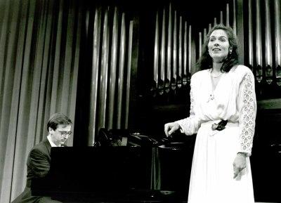 Anne McMillan y Alejandro Zabala. Recital de canto y piano