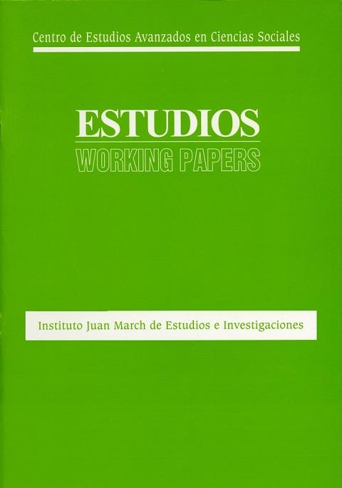 "Portada de ""Economic crisis, globalization, and partisan bias: evidence from Spain"""