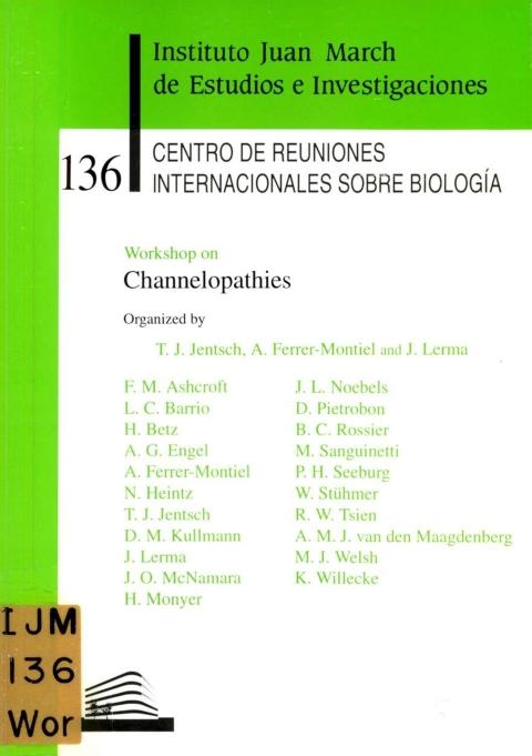 "Portada de ""Workshop on Channelopathies"""