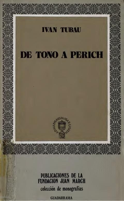 """Portada de """"De Tono a Perich : el chiste gráfico en la prensa española de la posguerra (1939-1969)"""""""