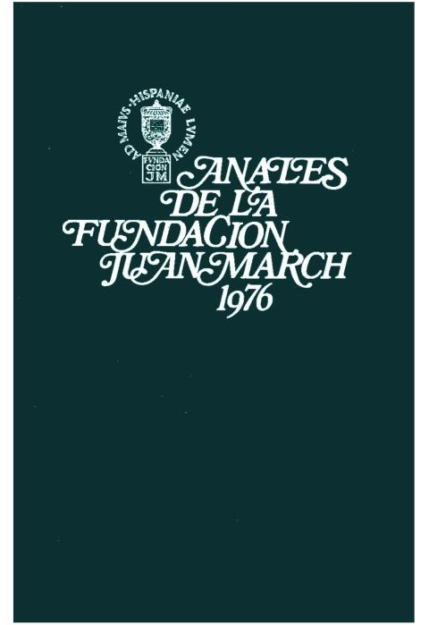 """Portada de """"Anales 1976"""""""