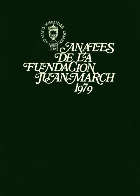 """Portada de """"Anales 1979"""""""