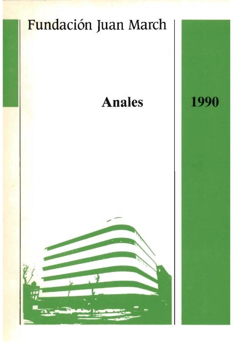 """Portada de """"Anales 1990"""""""