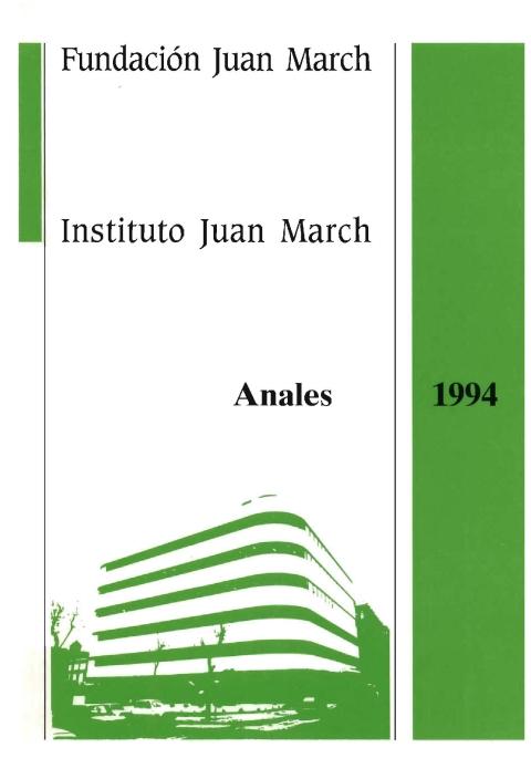 """Portada de """"Anales 1994"""""""