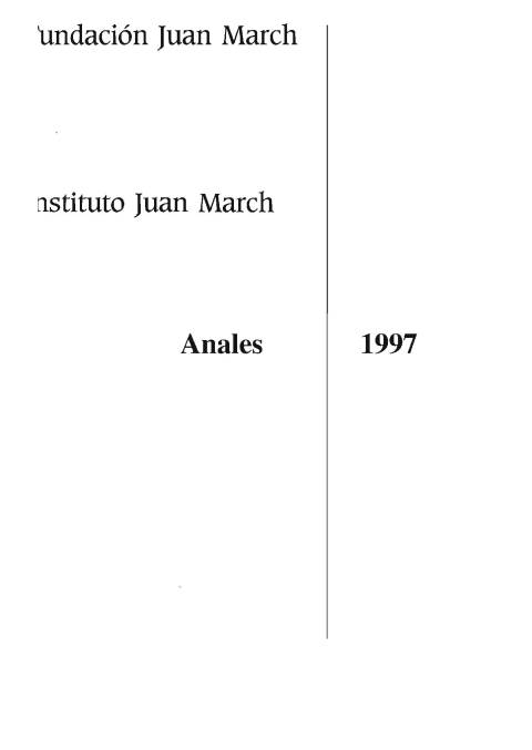 """Portada de """"Anales 1997"""""""