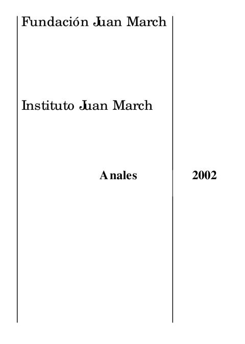 """Portada de """"Anales 2002"""""""