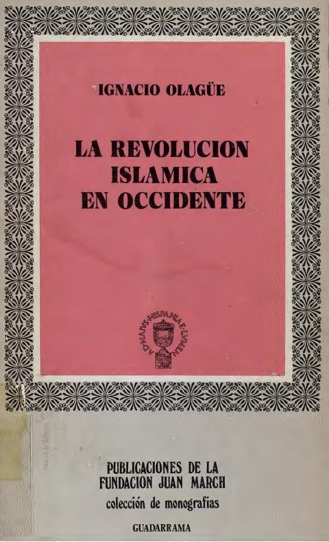 """Portada de """"La revolución islámica en Occidente"""""""