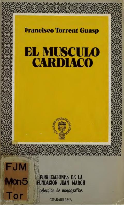 """Portada de """"El músculo cardiaco"""""""