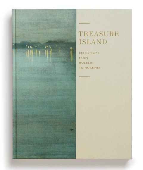 "Portada de ""Treasure island : British art from Holbein to Hockney"""