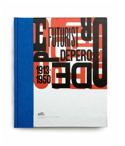 "Portada de ""Futurist Depero : 1913-1950"""
